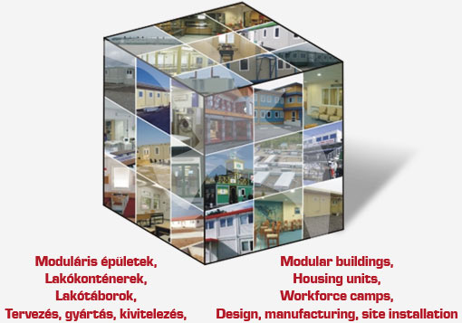 Lakort modular buildings with Larus technology